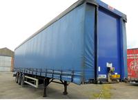 SDC tri-axle curtainsider in Antrim