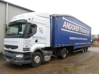 Montracon double-deck curtainsiders in Antrim