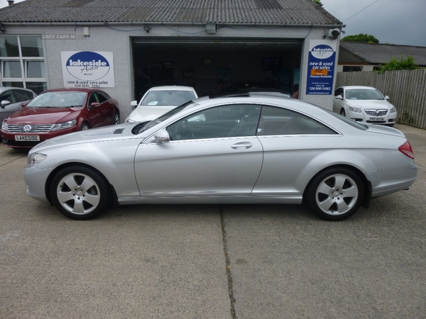 Mercedes CL-Class 500 AUTO Full Spec, Stunning Condition Throughout , full merc History !! in Down