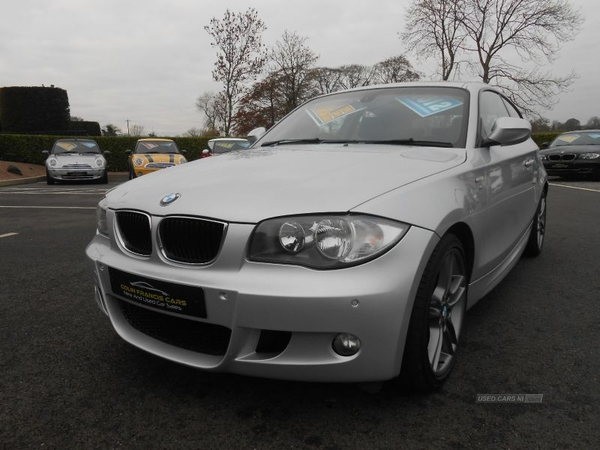 BMW 1 Series PERFORMANCE EDITION *HALF LEATHER**PARKING SENSORS* in Derry / Londonderry