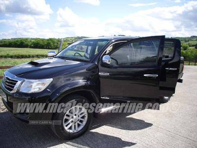 Toyota Hilux Invincible in Armagh