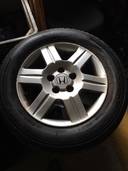 Honda CR-V alloy wheels and tyres in Down
