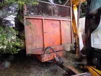 Marshall 14 Ton Silage Trailer in Down