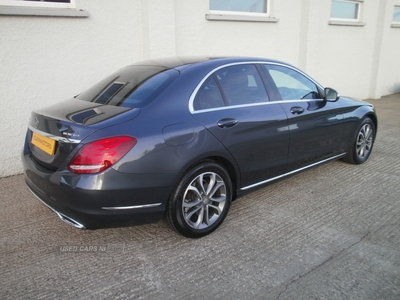 Mercedes C-Class C220 SPORT BLUETEC AUTO in Tyrone
