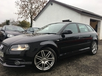 Audi A3 S LINE 1.4 TFSI SPORTBACK, 2 OWNERS, FULL SERVICE HISTORY in Antrim