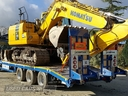 Chieftain 3 Axles Fast Tow Low Loader