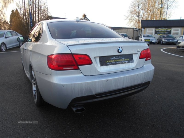 BMW 3 Series Coupe Cabriolet 3 SERIES M Sport Coupe *DAKOTA RED LEATHER SEATS* 19 ALLOYS* in Derry / Londonderry