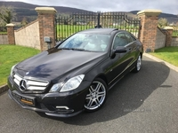 Mercedes E-Class BLUEF-CY CDI SPORT AUTO COUPE **FULL PANORAMIC ROOF / SAT NAV** in Down