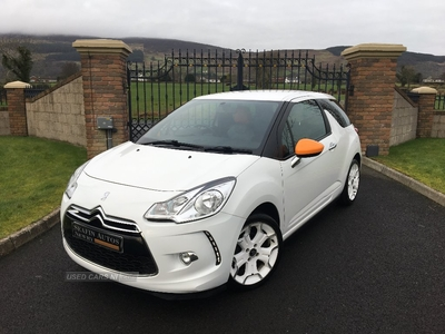 Citroen DS3 ORLA KIELY DESIGN 1.6 HDI **FULL LEATHER / FULL SERVICE HISTORY** in Down