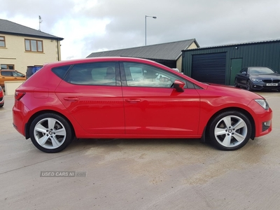 Seat Leon 2.0 TDI FR 5dr [Technology Pack] HIGH SPEC, NEW MODEL FR EDITION in Tyrone