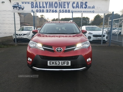 Toyota RAV4 2.0 D-4D Invincible 5dr 2WD ~~Full Black Leather~~ in Antrim