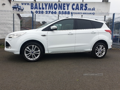 Ford Kuga 2.0 TDCi Titanium X Sport AWD 4x4 180PS ~~Full Leather~~Heated Seats~~Panoramic Roof~~ in Antrim