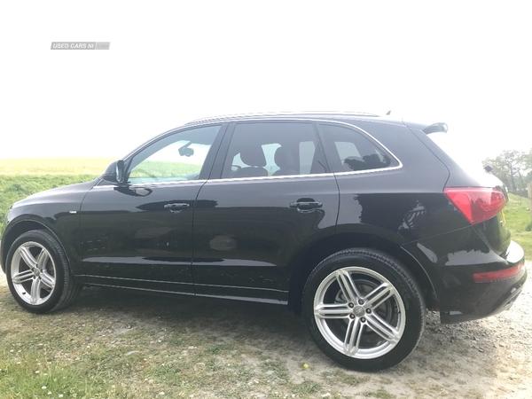 Audi Q5 2.0 TDI [143] Quattro S Line Plus 5dr in Down
