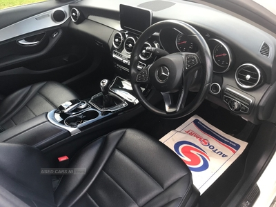 Mercedes C-Class C220 BlueTEC Sport 4dr Manual in Down