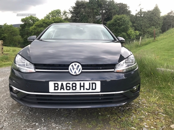 Volkswagen Golf 1.6 TDI GT **ONLY 2500 MILES** in Down
