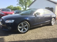Audi A5 2.0 TDI Quattro SE sportback 5dr, STUNNING CONDITION, 2 OWNERS FROM NEW, FULL AUDI SERVICE HISTORY in Antrim