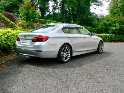 BMW 5 Series 520d Luxury 4dr Step Auto. Leather. Sensors. Full history. in Fermanagh