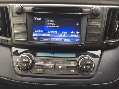 Toyota RAV4 2.0 D-4D Icon 5dr 2WD in Antrim