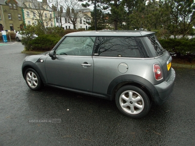 MINI Hatch GRAPHITE in Down