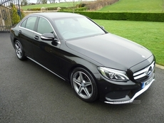 Mercedes C-Class AMG LINE BLUETEC AUT in Down