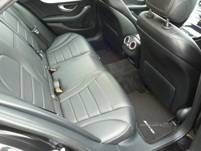 Mercedes C-Class AMG LINE BLUETEC AUT in Down