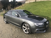 Audi A5 S LINE BLACK ED TDI QU in Down