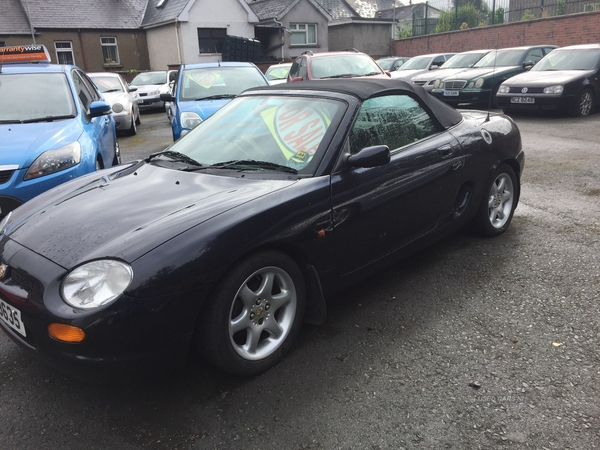 MG MGF in Armagh