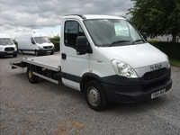 Iveco Daily Beavertail with winch in Tyrone