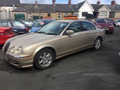 Jaguar S-Type V6 in Armagh