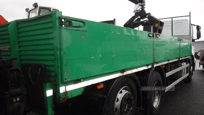 "BT 23ft 6""Treble dropside aluminium body in Down"