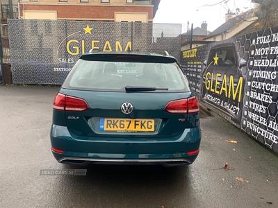 Volkswagen Golf SE NAVIGATION TDI BM in Antrim