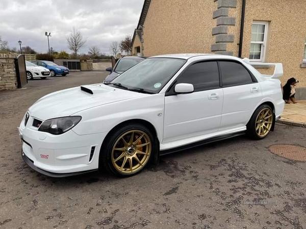 Subaru Impreza WRX STI TYPE-UK in Tyrone