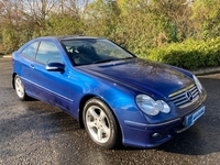 Mercedes C-Class C220 SE 2 dr Coupe in Down