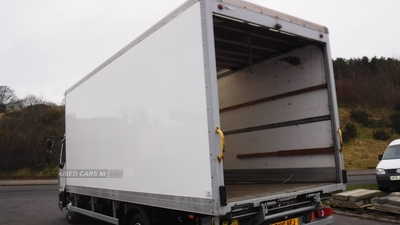 20ft Container 20ft GRP Box & Tuck away tail lift in exc cond in Down
