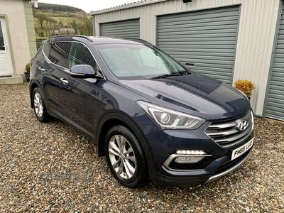 Hyundai Santa Fe PREM BLUE DRVE C in Derry / Londonderry