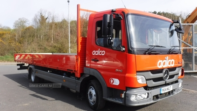 """Mercedes Atego 24ft6"""" dropside body which can be shortened in Down"""
