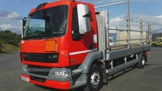 """Daf LF55-210 19ft 8"""" flatbed 16 tonnes gross in Down"""