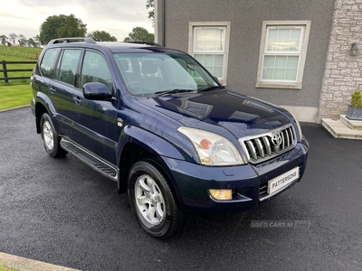 Toyota Land Cruiser LC3 D-4D in Armagh