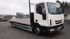 Iveco Eurocargo 75E 18 with new 20ft flatbed body . in Down