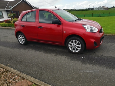 Nissan Micra VIBE in Armagh
