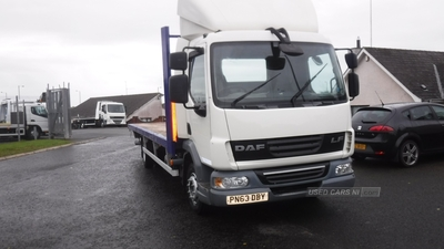 Daf LF45-160 12 TON 24ft or 22ft Flat body in Down